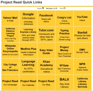 Project Read Quick Links, Goldie